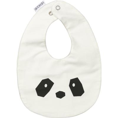 Liewood Henry Bib Panda Creme Da La Creme 2-pack