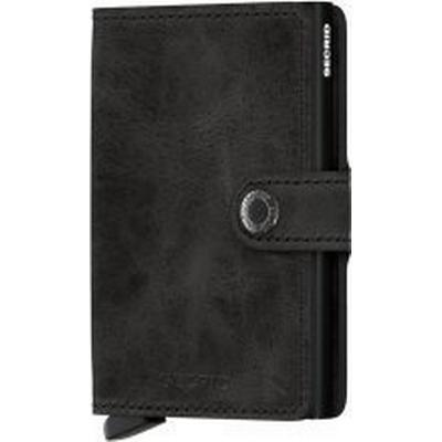 Secrid Mini Wallet - Vintage Black