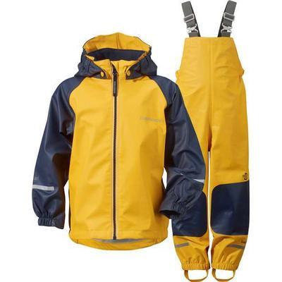 Didriksons Stormman Kid's Regnställ - Yellow