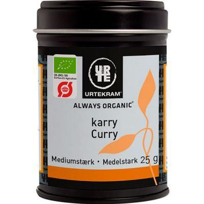 Urtekram Medium Strong Curry 25g