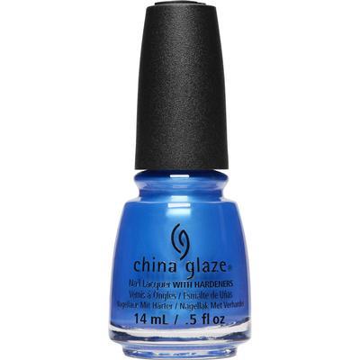 China Glaze Nail Lacquer Crushin On Blue 14ml