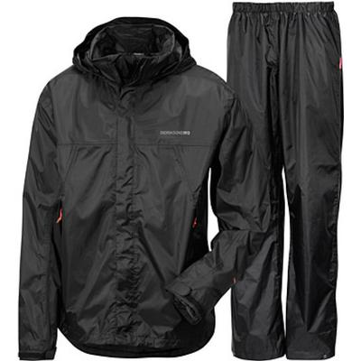 Didriksons Main Boy's Set Rain Gear - Black (0241400323)