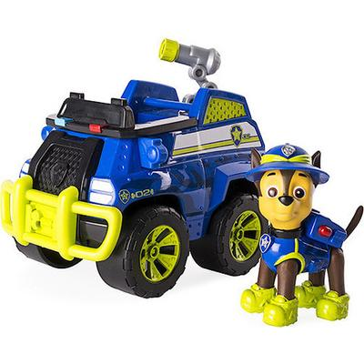 Spin Master Paw Patrol Jungle Rescue Chase's Jungle Cruiser