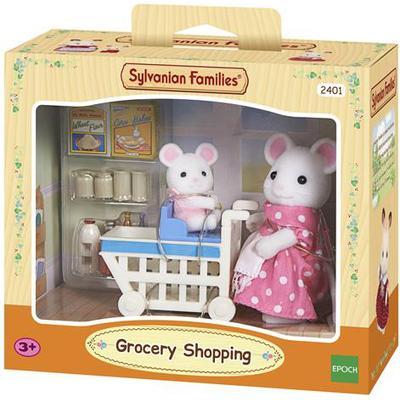Sylvanian Families Katie & Mazie Go Shopping