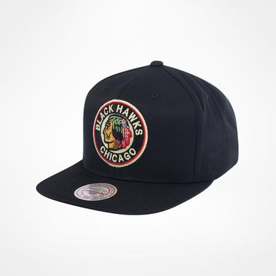 Mitchell & Ness Chicago Blackhawks Wool Solid 2 Snapback