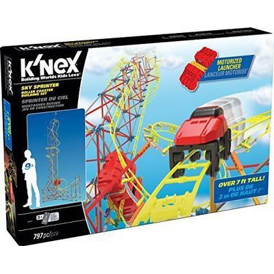 Knex Sky Sprinter Roller Coaster Building Set 52478