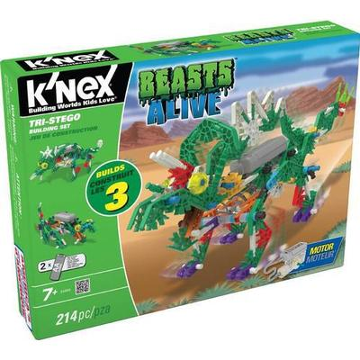 Knex Beasts Alive Tri-Stego Building Set 34484