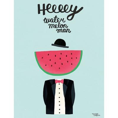 Michelle Carlslund Water Melon Man 30x40cm Affisch