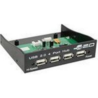 InLine 33393B 4-Port USB 2.0 Intern