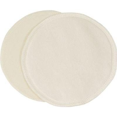 Imsevimse Natural Nursing Inserts Silk/Wool Ø10cm 2pcs