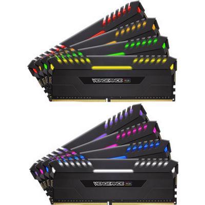 Corsair Vengeance RGB LED DDR4 2666MHz 8x8GB (CMR64GX4M8A2666C16)