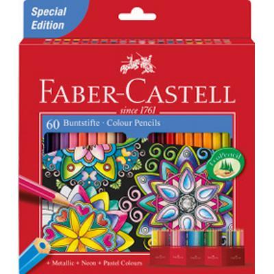 Faber-Castell Castle Colour Pencil 60-pack