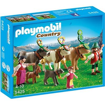 Playmobil Bavarian Alpine Festival Mountain Catlle Drive 5425
