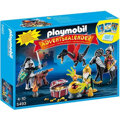 Playmobil Christmas Advent Calendar Dragons Treasure Battle 5493
