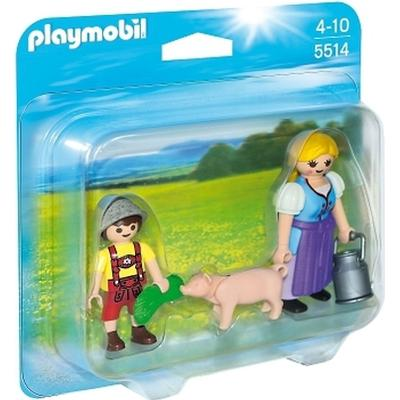 Playmobil Country Farm Woman & Boy Duo Pack 5514