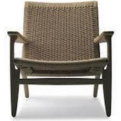 Carl Hansen CH25 Lounge Chair Fåtölj, Loungefåtölj Karmstol, Loungestol