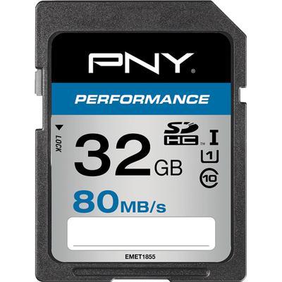 PNY Performance SDHC UHS-I 80MB/s 32GB