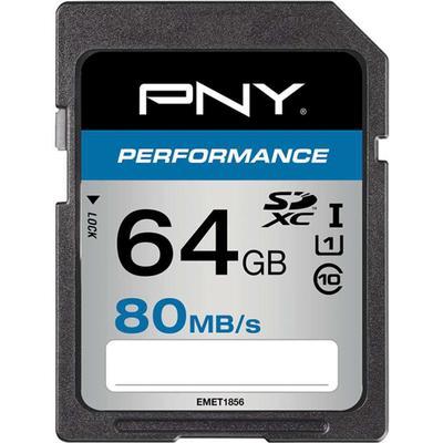PNY Performance SDXC UHS-I 80MB/s 64GB
