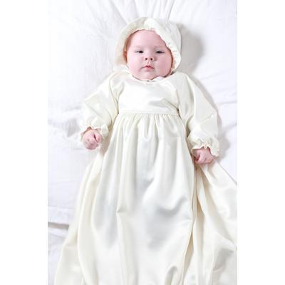 Cadel Robin Christening Robe - White