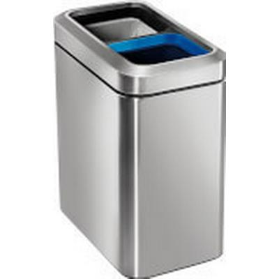 Simplehuman Slim Open Recycler Bin 20L