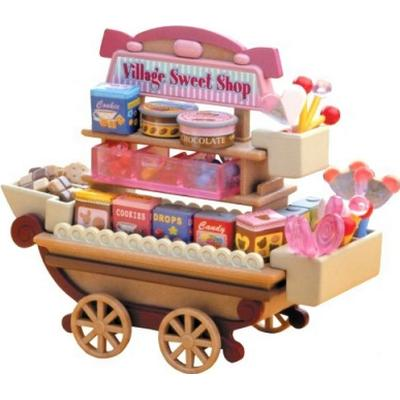 Sylvanian Families Candy Cart Village Sweet Stall