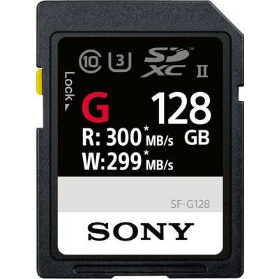 Sony SF-G SDXC UHS-II U3 300/299MB/s 128GB