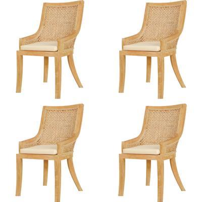 vidaXL 273780 4-Pack Kitchen Chair
