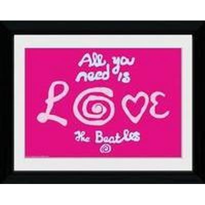 GB Eye The Beatles All You Need Is Love 30x40cm Affisch