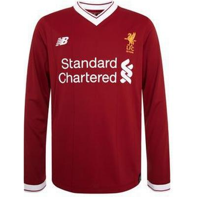 New Balance Liverpool Home LS Jersey 17/18 Youth