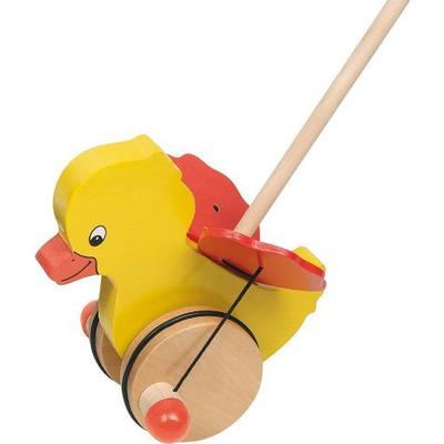 Goki Tweedy Push Along Animal
