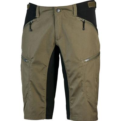 Lundhags - Makke Shorts (Sort / Olivengrøn, W50, Normal længde)