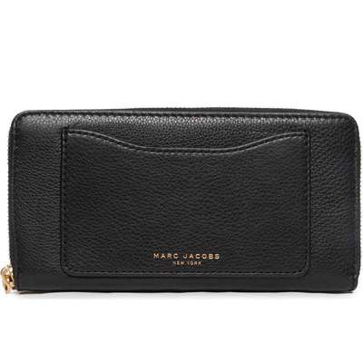 Marc Jacobs Recruit Standard Continental Wallet - Black (M0008168)