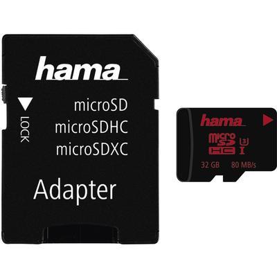 Hama MicroSDHC UHS-l U3 80MB/s 32GB