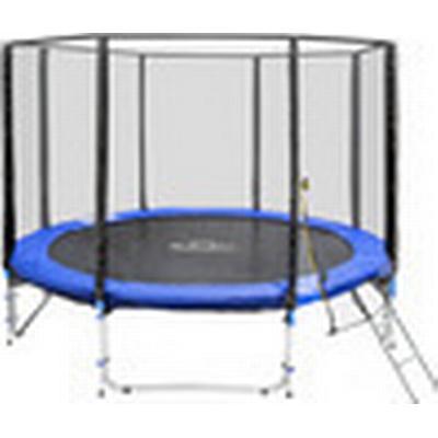TecTake Trampoline + Safety Net + Ladder 305cm