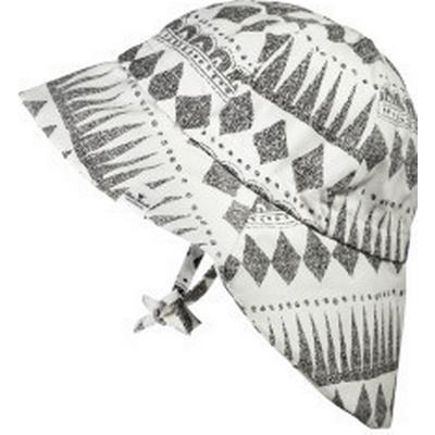 Elodie Details Graphic Devotion Sun Hat - White/Grey