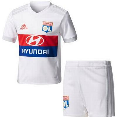 Adidas Olympique Lyon Home Jersey Kit 17/18 Infants