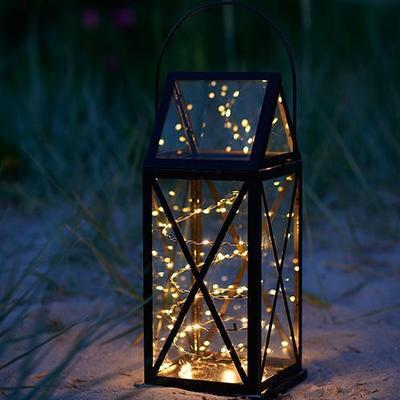 Sirius Aske Magnum Lantern 50cm Julebelysning - Sammenlign priser hos PriceRunner