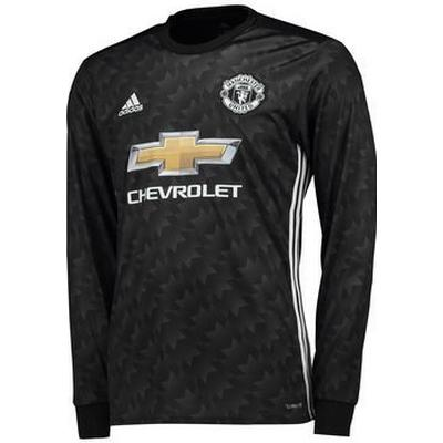 Adidas Manchester United Away LS Jersey 17/18 Youth