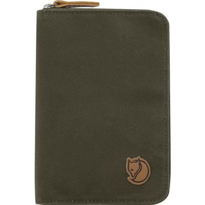 Fjällräven Passport Wallet - Dark Olive (F24220)