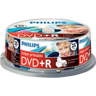 Philips DVD+R 4.7 GB 16x Spindle 25-Pack
