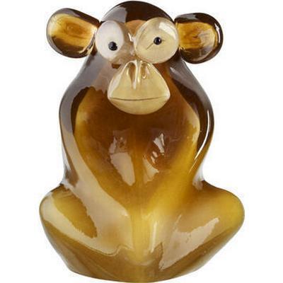 Kosta Boda My Wide Life Shock The Monkey Skulptur