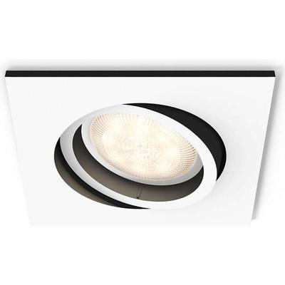 philips hue milliskin square spotlight sammenlign priser hos pricerunner. Black Bedroom Furniture Sets. Home Design Ideas