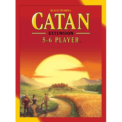 Settlers of Catan Expansion 5-6 Players (Engelska)