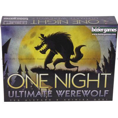 Bezier Games One Night Ultimate Werewolf (Engelska)
