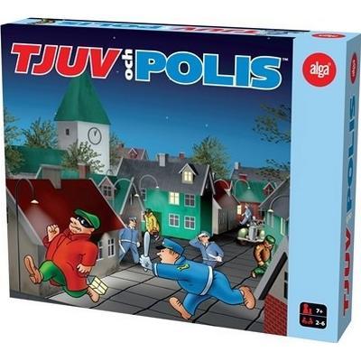 Alga Tjuv och Polis (Svenska)