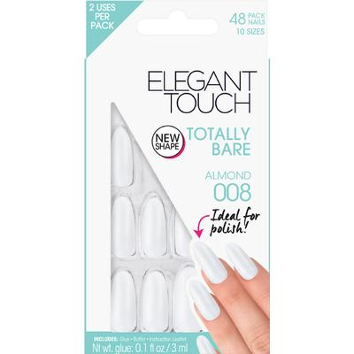 Elegant Touch Totally Bare Almond Nails #008 48-pack