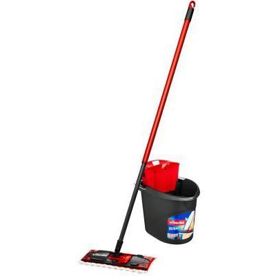 Vileda Utramax Microfiber Mop with Bucket & Wringer