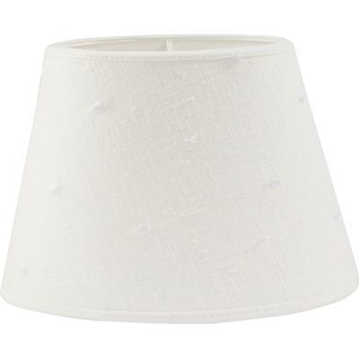 PR Home Oval Lin Prick 30cm Lampshade Lampdel Endast lampskärm