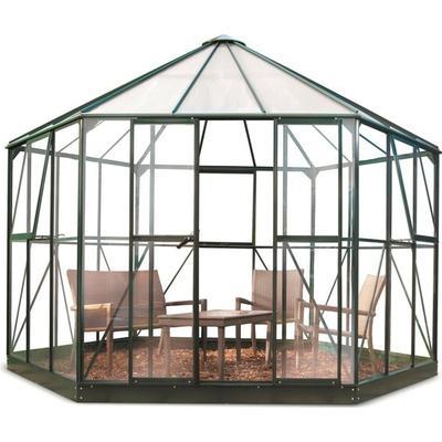 Halls Atrium 9m² Alu+Glas Aluminium