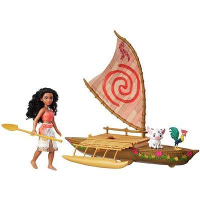 Hasbro Disney Moana Starlight Canoe & Friends B8308